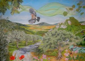 Maestosa Valle - Olio su tela - cm 100 x 140